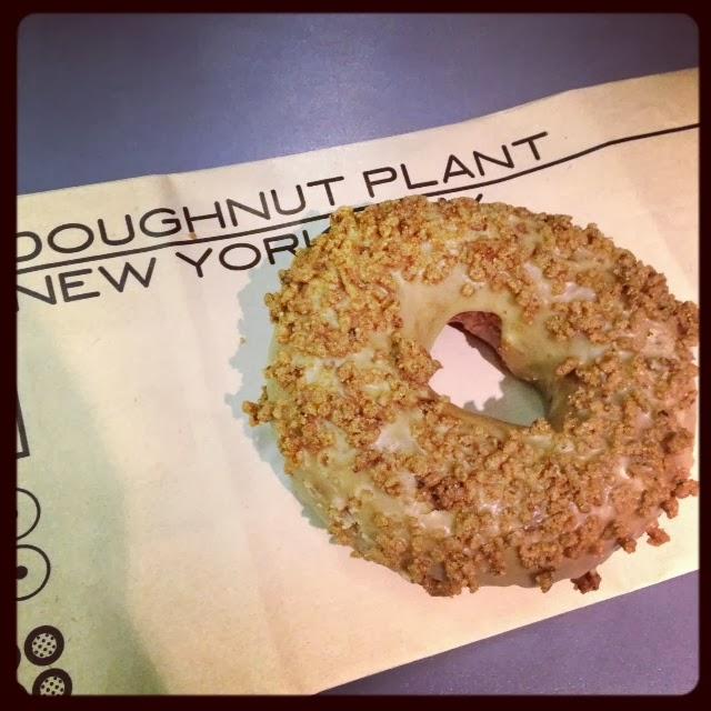 Doughnut Plant: Never Turn Down A Cupcake: NYC Visit