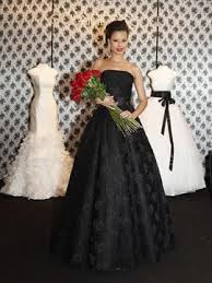 Black Wedding Dress Photos