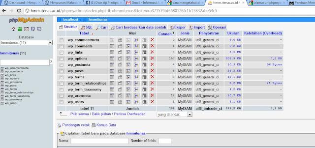 CARA INSTAL CMS WORDPRESS DI FTP COMANDER ATAU CARA INSTAL CMS WORDPRESS SECARA MENUAL