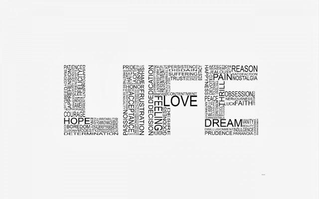 White Life Love