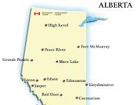 Alberta Regions Map