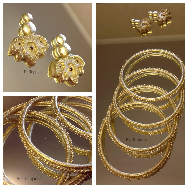 Edible Jewelry Fondant Gumpaste Bracelet Earrings Cake Topper