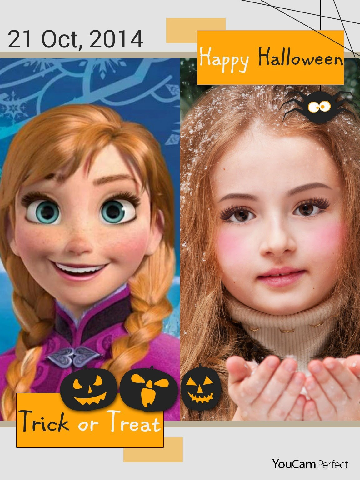 Create play frozen makeup tutorial become elsa or anna baditri Image collections