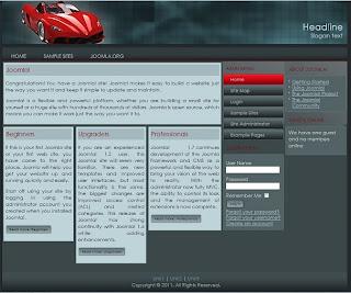car portal joomla 1.7 template