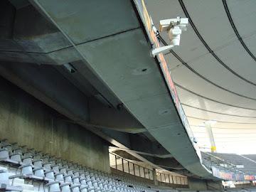Câmera de segurança no Stadefrance