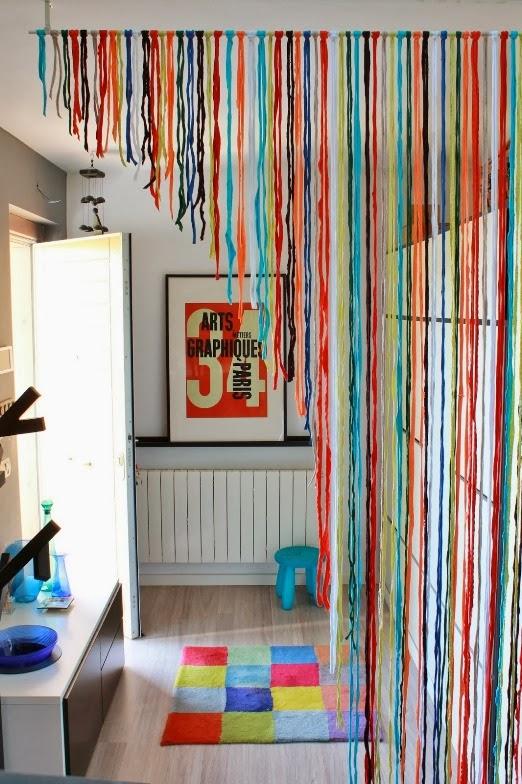 Blog de decora o arquitrecos cortinas de porta para - Cortinas de casa ...