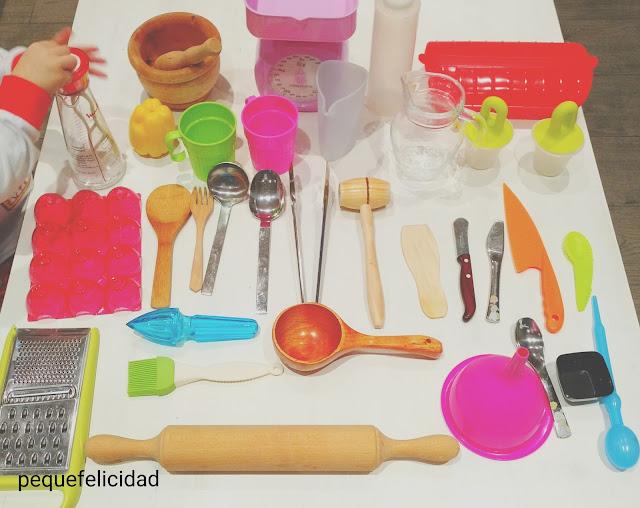 Pequefelicidad utensilios adaptados ideas y libros para for Utensilios de chef