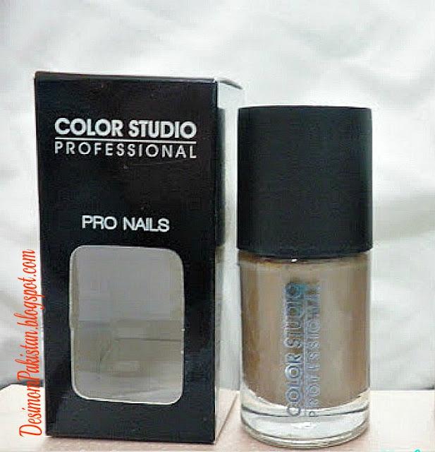 color studio professional pro nails in mocha
