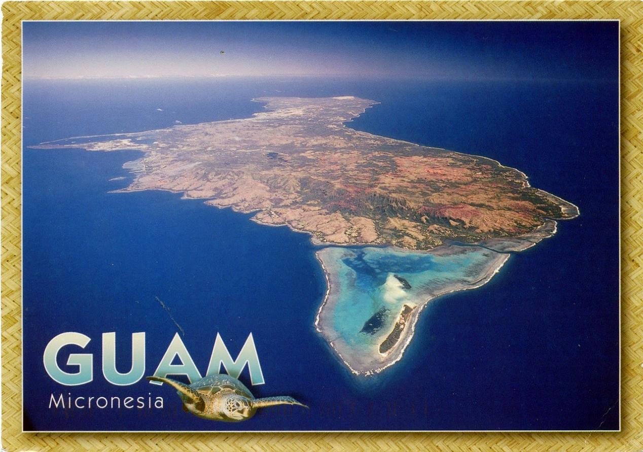 Остров гуам фото самобытность поделки