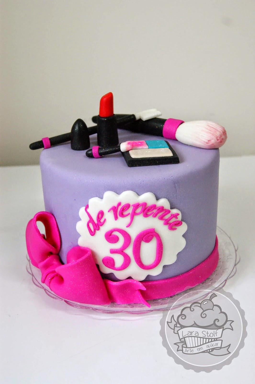 Lara stolf arte em aucar bolo de repente 30 bolo feito com muito carinho para o aniversrio de 30 anos da minha amiga paula altavistaventures Gallery