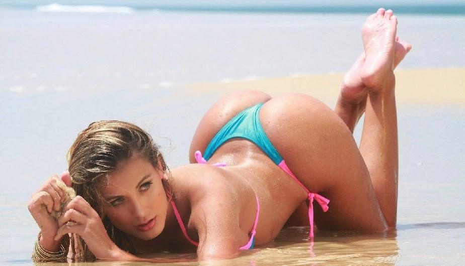 Vanessa Huppenkothen : la periodista deportiva y modelo mexicana con la que se relaciona a Cristiano Ronaldo , chicas sexys 1x2