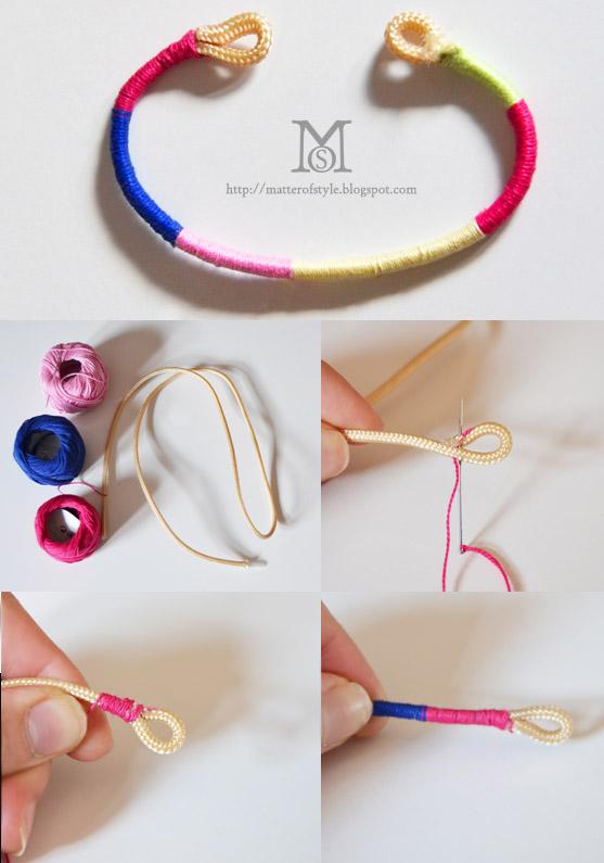 Как делать простые браслеты своими руками