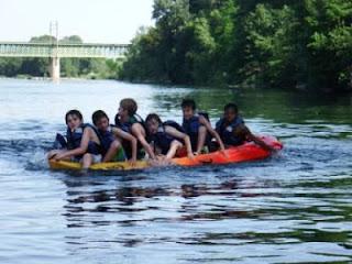 Ecole de canoe enfants