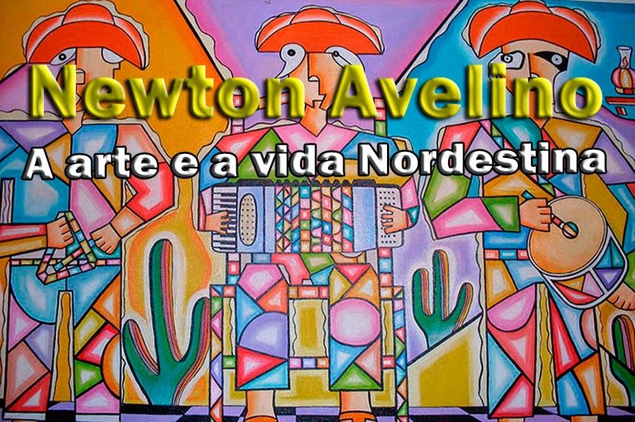 A arte de Newton Avelino