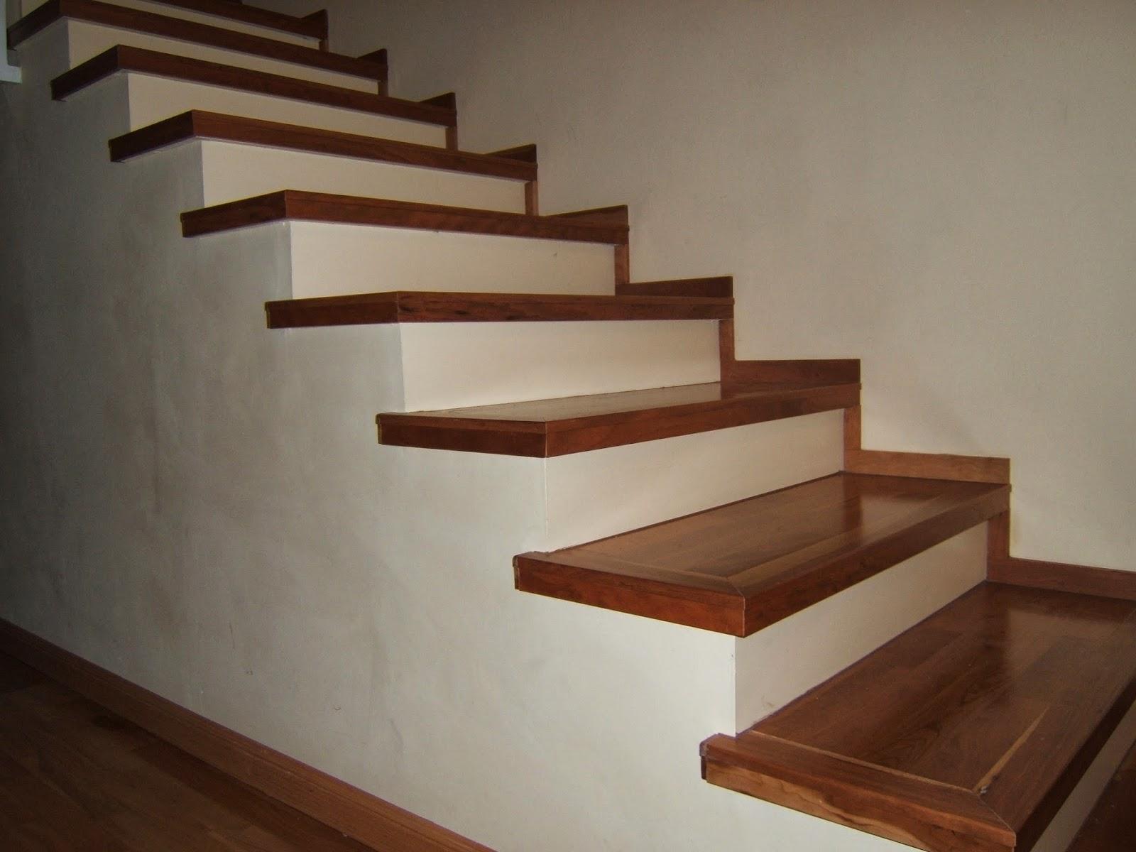 Nicolas rojas instalaciones tarima cocinas armarios - Escaleras de madera ...