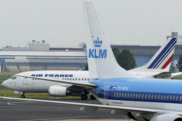 Avião impedido de decolar de Amsterdã