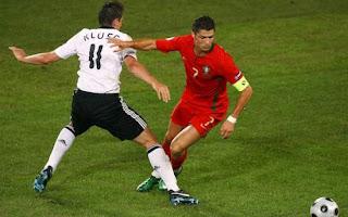 Amague de Cristiano Ronaldo