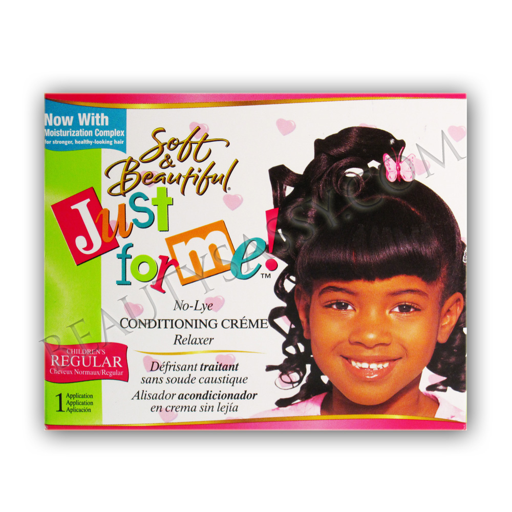 Simple  Was With The Just For Me Hair Relaxer For Kids  LONG HAIRSTYLES