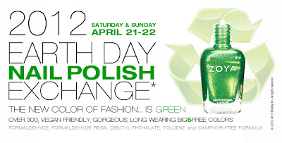 Zoya Earth Day Nail Polish Exchange