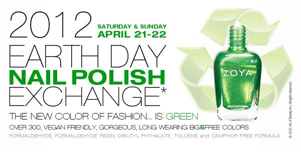 Zoya Earth Day Nail Polish Exchange 107
