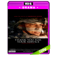 Thank You for Your Service (2017) WEB-DL 720p Audio Dual Latino-Ingles