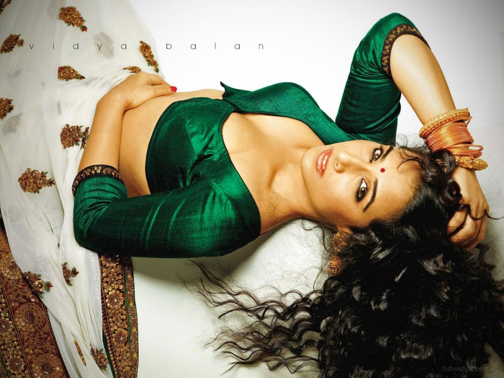 Vidya Balan hot cleavage hd wallpapers