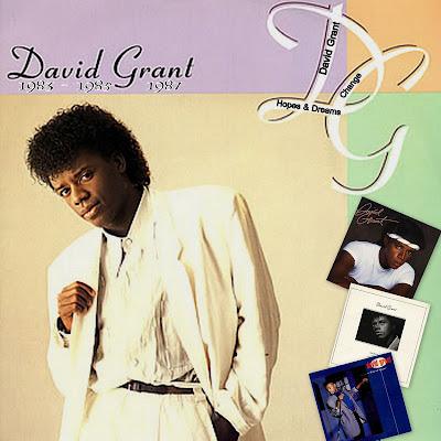 DAVID GRANT 3 Albums / 1983/85/87