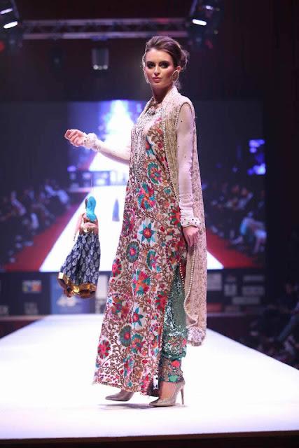 """""""Braathi' By Huma Nasir Bridal Collection At Qatar"""