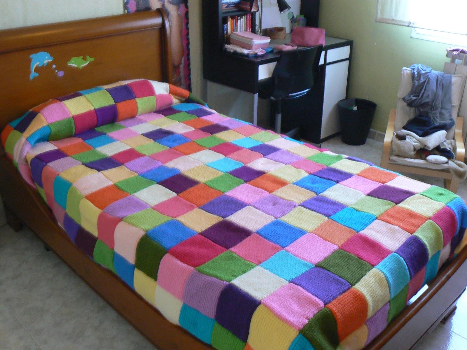 Colchas hechas a mano imagui for Mantas de lana hechas a mano