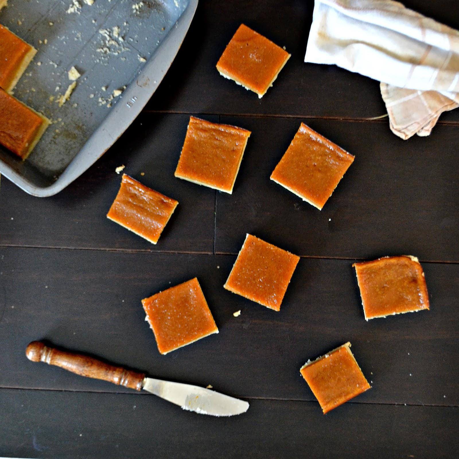 ... Mama: Pumpkin Bars with a Bacon Fat Shortbread Crust #30DaysOfPumpkin