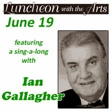 Luncheon with the Arts: Sing-A-Long with Ian Gallagher