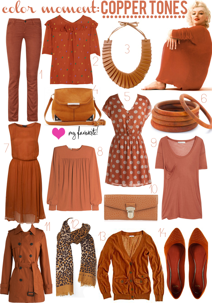 COLOR MOMENT: COPPER | Luella & June