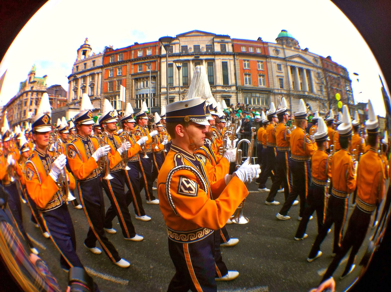st patricks day em dublin, irlanda