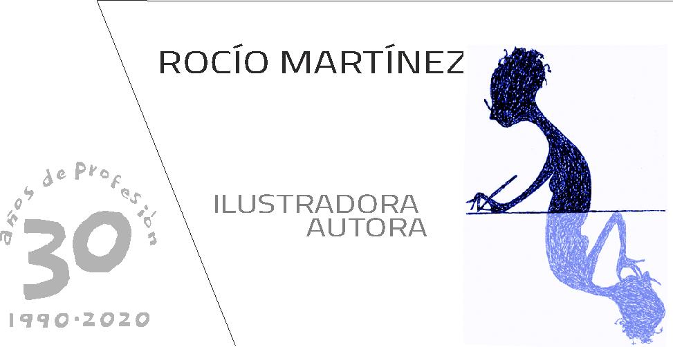 ROCÍO MARTÍNEZ autora ilustradora