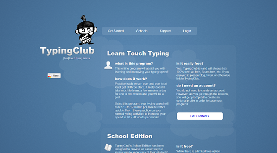Typing Club Logo Typing Club For Your Classroom