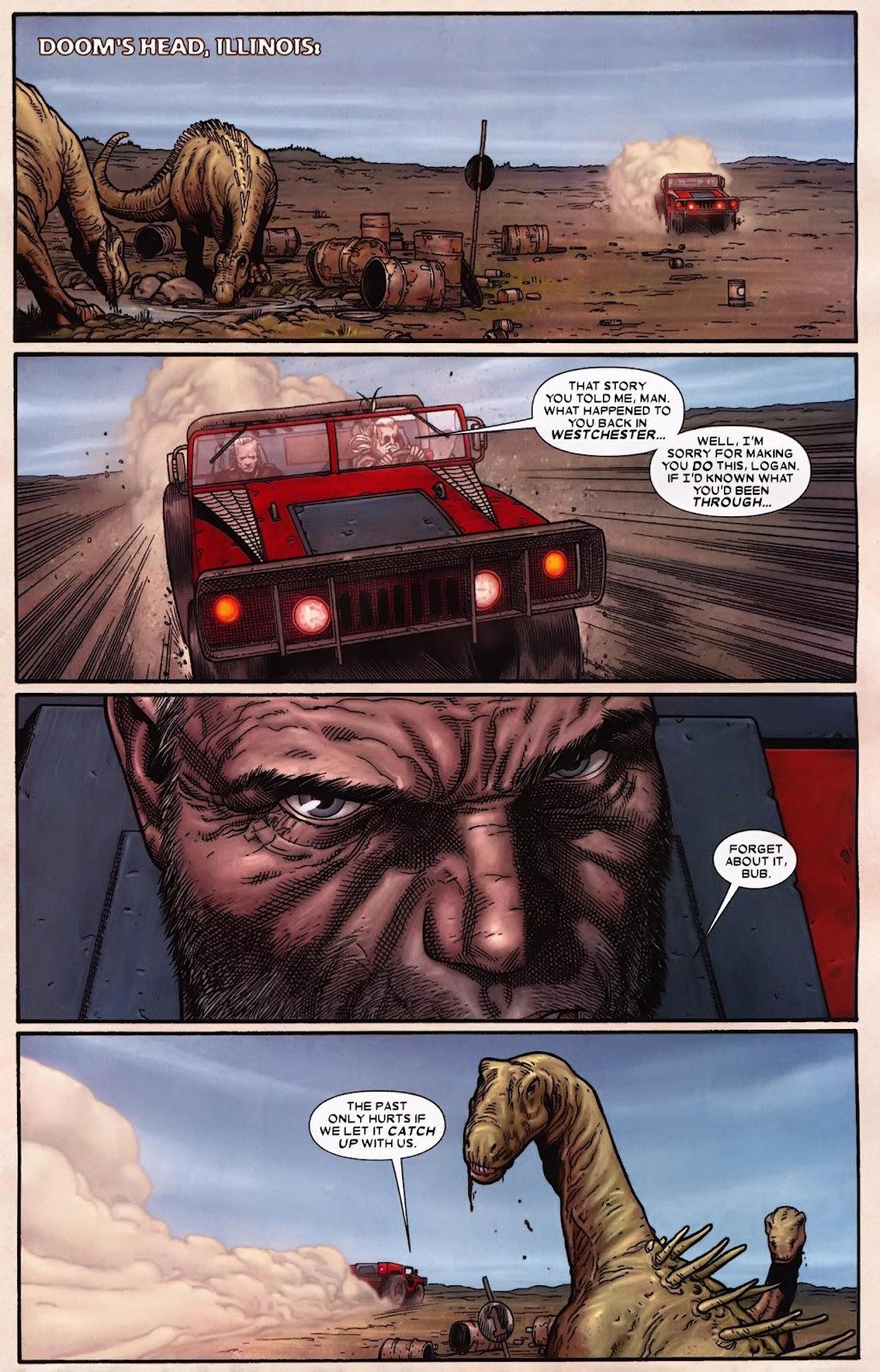 Read online Wolverine (2003) comic -  Issue #70 - 22