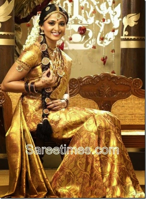 And If You Are Looking For Lehenga Then South Indian Girls Do Wear Something Called As Half Saree Like This Picture Below
