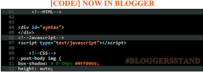 highlighted rows in syntax highlighter in blogger