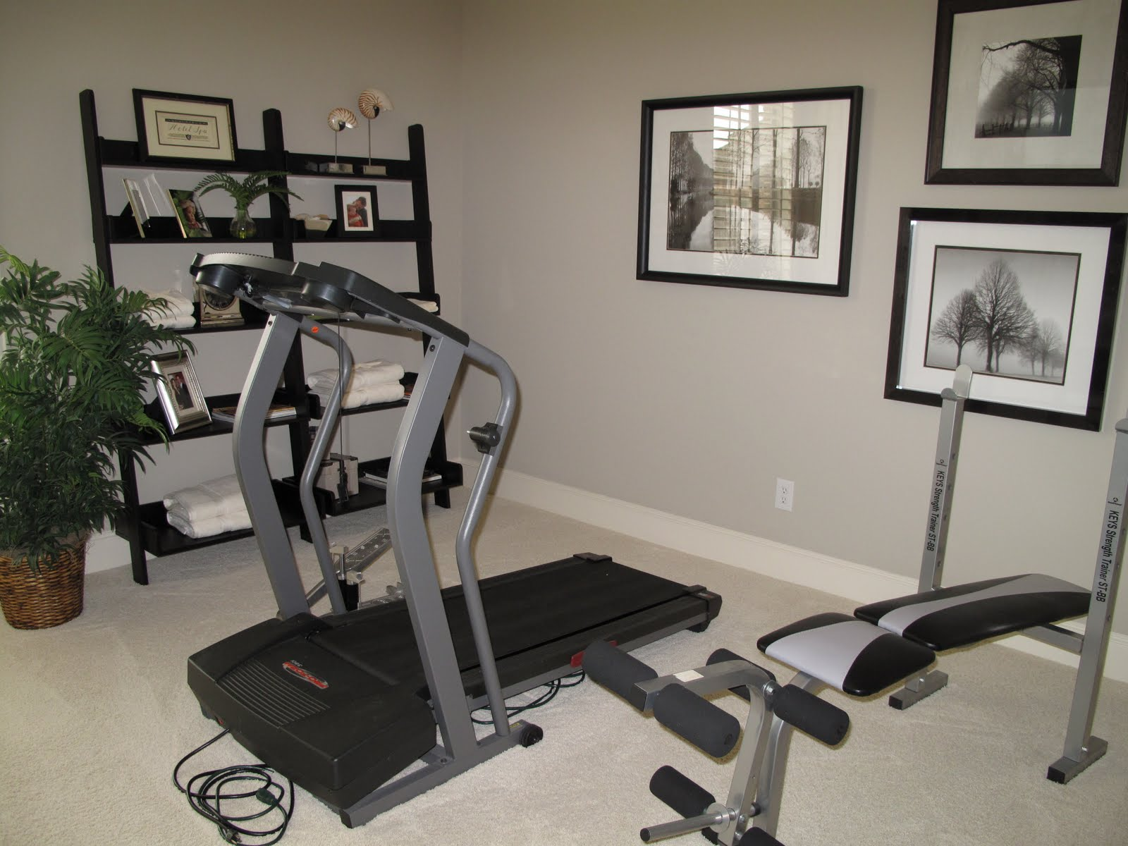 5th Bedroom/exercise Room