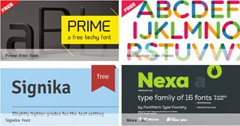 Descarga fuentes gratis en FontFabric para tus diseños y proyectos.