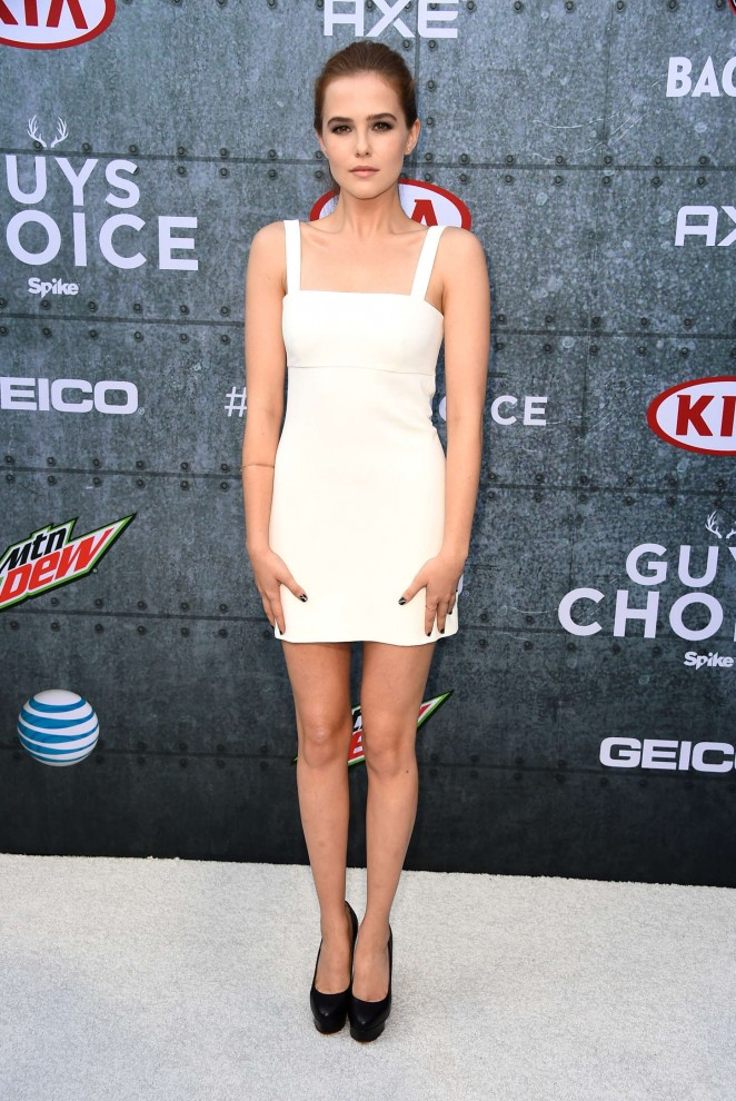 Zoey Deutch – Spike TV's Guys Choice 2015 in Culver City