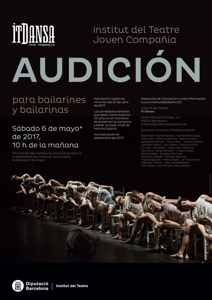 Convocatoria IT Dansa