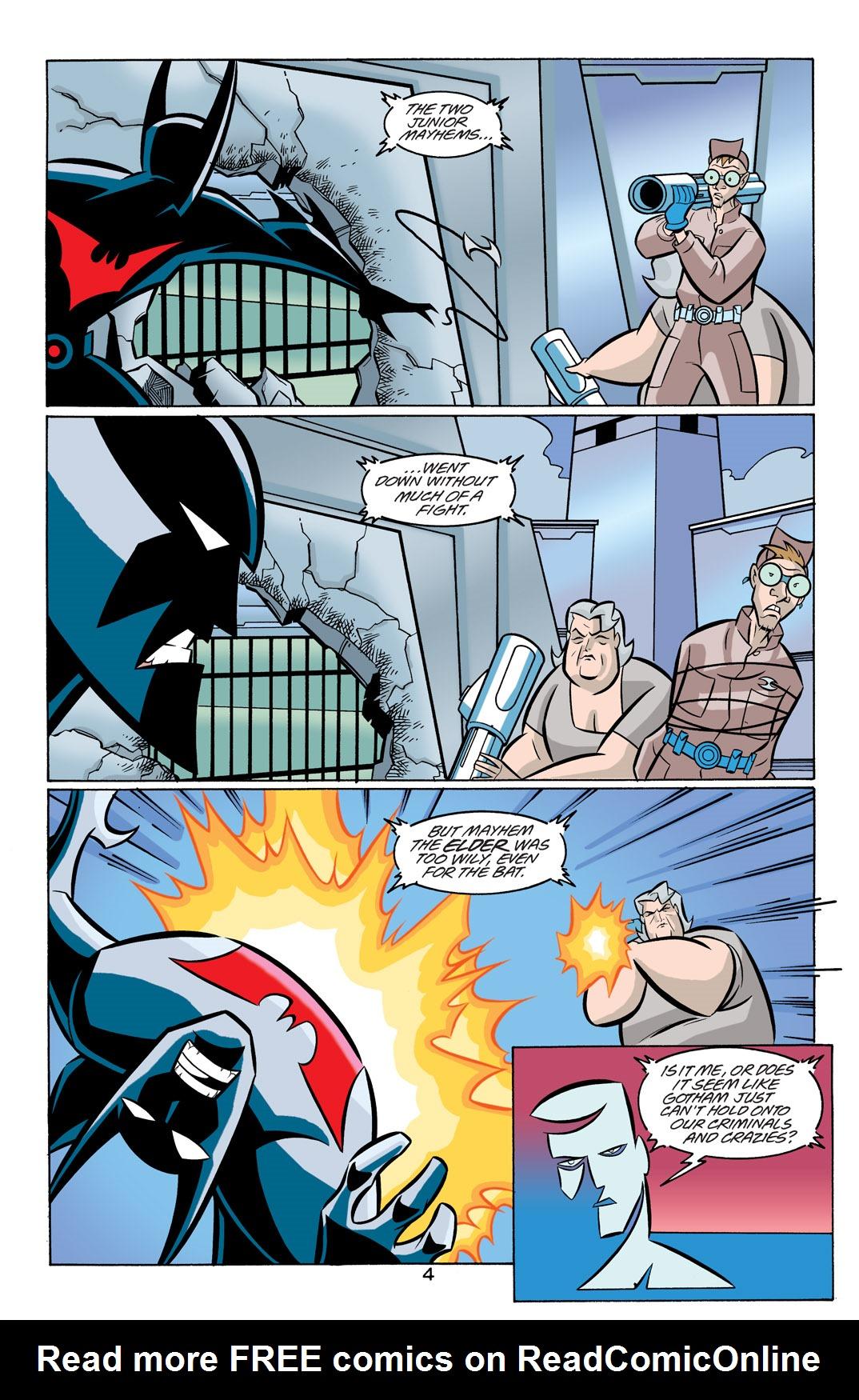 Batman Beyond [II] Issue #19 #19 - English 5