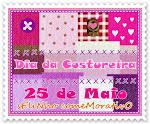 Nosso selo: 25 de maio Dia da Costureira: