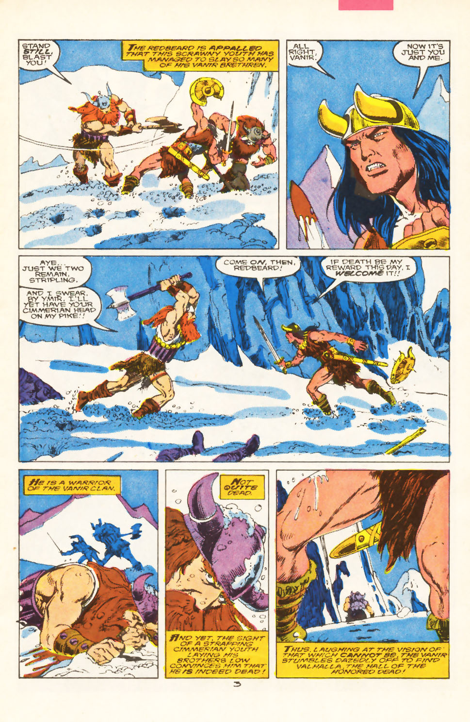 Conan the Barbarian (1970) Issue #211 #223 - English 4