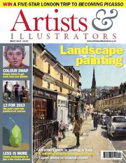Artists And Illustrators Magazine March 2013