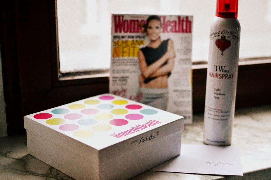 hair spray pink box sport heidi klum