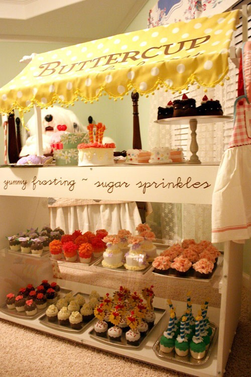 Bizzy oven mitt bakery cute bakery display ideas for Cute display pictures
