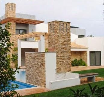 Fachadas de piedra fachadas de casas de campo con piedra laja - Piedras para fachadas de casas ...