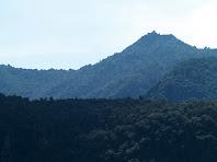 El Turó de Tagamanent vist baixant de la Codina